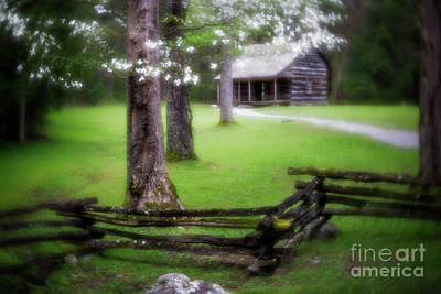 Dreamy Cabin Art Print by Todd Bielby