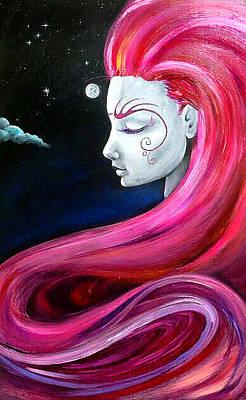Carolyn Anderson Painting - Dreamy by Carolyn Anderson