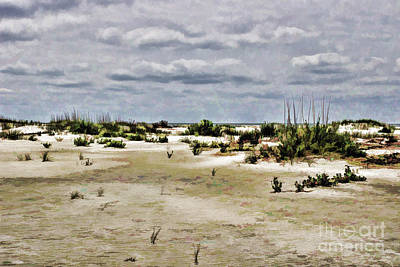 Photograph - Dreamy Sand Dunes by Roberta Byram