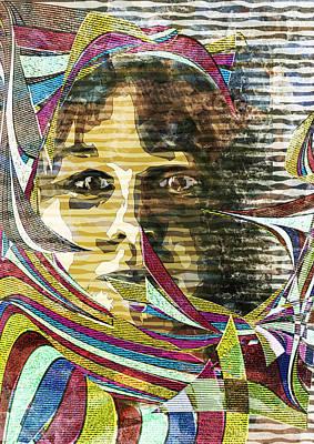 Digital Art - Dreamy Eyes by Haruo Obana