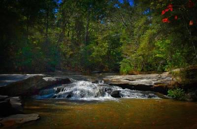 Sc Waterfalls Photograph - Dreamy Falls by Skip Willits