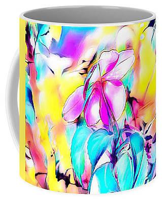 Digital Art - Dreamy Flower Coffee Mug by Gayle Price Thomas