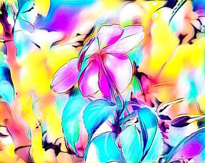Digital Art - Dreamy Flower by Gayle Price Thomas