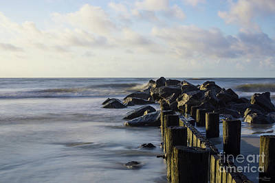 Photograph - Dreamy Folly Seawall by Jennifer White