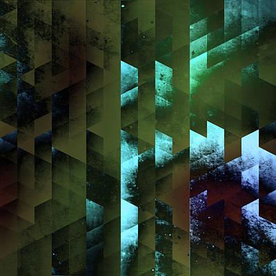 Quadro Digital Art - Dreamy Geometry by Kristian Leov