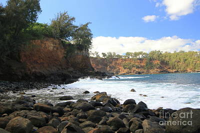 Photograph - Dreamy Hawaiian Beach by Mary Haber