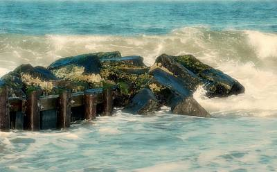 Photograph - Dreamy Jetty - Jersey Shore by Angie Tirado