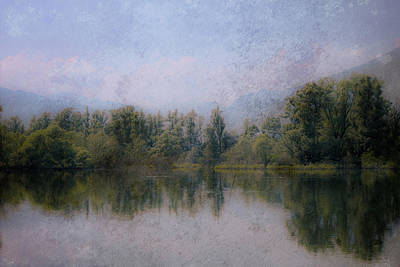 Dreamy Lake Art Print by Joana Kruse