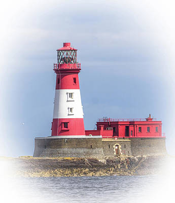 Uk Photograph - Dreamy Lighthouse. by Nigel Dudson