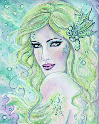 Painting - Dreamy Mermaid by Renee Lavoie