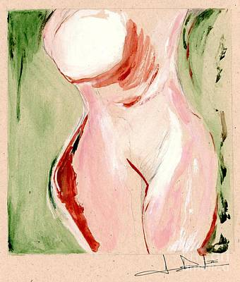 Painting - Dreamy Nude by George D Gordon III