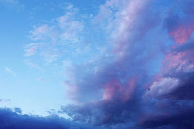 Photograph - Dreamy Pink And Blue Cloudscape 2 by Joni Eskridge
