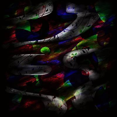 Psychological Digital Art - Dreamy by Rachel Christine Nowicki
