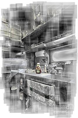 Digital Art - Dreamy Rr Galley by Georgianne Giese
