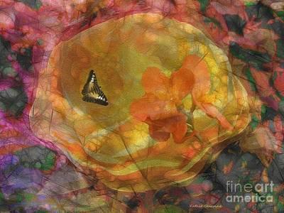 Digital Art - Dreamy Summer Day by Kathie Chicoine