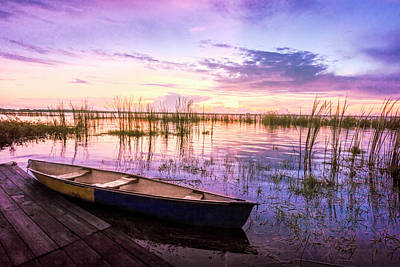 Photograph - Dreamy Sunrise In Lilac by Debra and Dave Vanderlaan