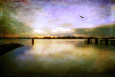Photograph - Dreamy Sunset - Cape Cod by Joann Vitali