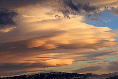 Reno Photograph - Dreamy Sunset by Donna Kennedy