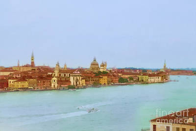 Photograph - Dreamy Venice by Kay Brewer