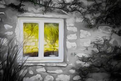 Dreamy Window Art Print by Carol Crisafi