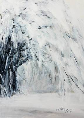 Painting - Dreamy Winter by Kume Bryant