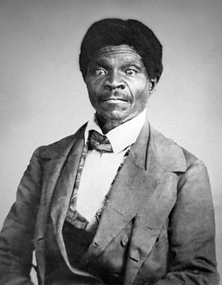 Slavery Photograph - Dred Scott by War Is Hell Store