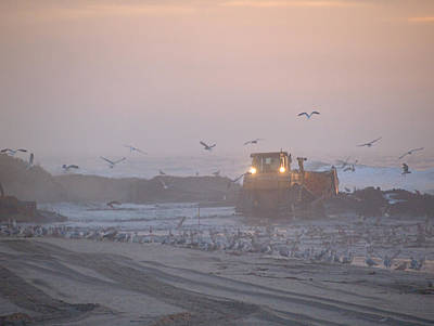 Photograph - Dredge Cat 5 by  Newwwman