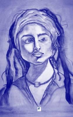 Drawing - Dredlock by Carol Rashawnna Williams