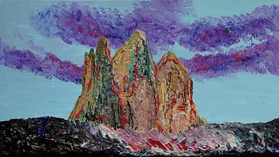 Painting - Drei Zinnen by Erik Tanghe