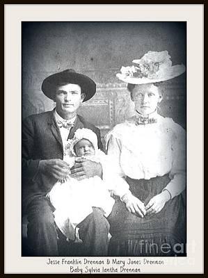 Photograph - Drennan Family by Bobbee Rickard