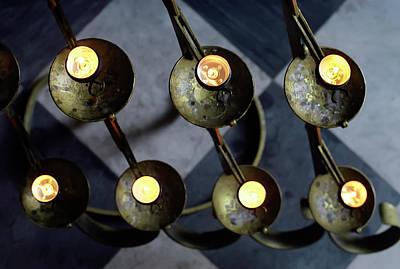 Photograph - Dresden Candles by KG Thienemann