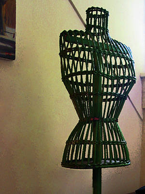 Photograph - Dress Form by Susan Savad