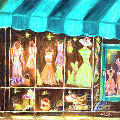 Painting - Dress Shop by Pati Pelz