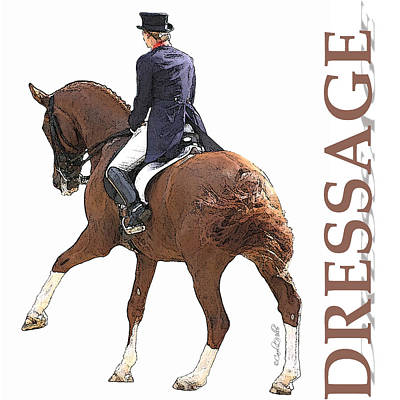 Photograph - Dressage Iv by CarolLMiller Photography