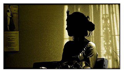 Senorita Photograph - Dressed For The Corrida Goyesca by Mal Bray