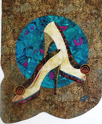 Lynda Boardman Art Tapestry - Textile - Dressed Up by Lynda K Boardman