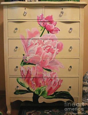 Painting - Dresser Rehab by Susan Herber