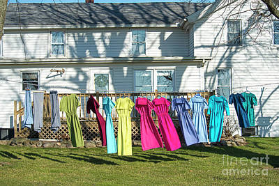 Photograph - Dresses To Dry In Winter by David Arment