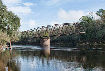 Photograph - Drew Bridge by John Black