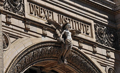 Angels Photograph - Drexel Institute - Philadelphia Pa by Bill Cannon