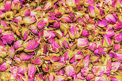 Photograph - Dried Rosebuds On Sale In Bazaar Of Istanbul by Marek Poplawski