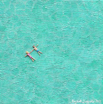 Painting - Drift Away by Elizabeth Langreiter