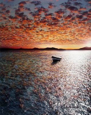 Waterscape Photograph - Drift Away by Jacky Gerritsen