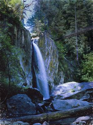 Photograph - Drift Creek Falls by HW Kateley