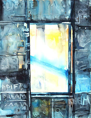 Drifting Painting - Drift Dream I Was There by Patricia Allingham Carlson