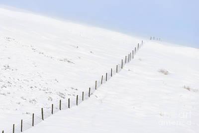Snow Drifts Photograph - Drift Over by Richard Thomas