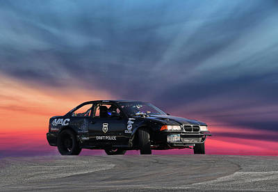 Photograph - Drift Police by Art Cole