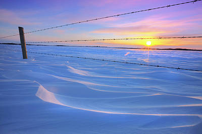 Snow Drifts Photograph - Drifting Away by Dan Jurak
