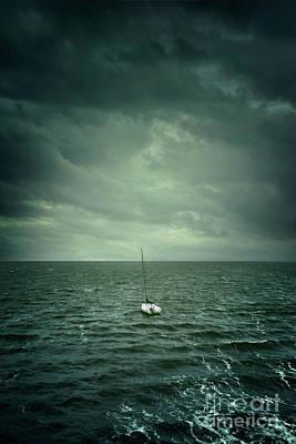 Photograph - Drifting Boat by Carlos Caetano