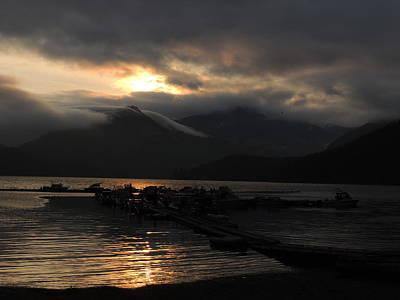 Photograph - Drifting Sunset #2 by Nootka Sound